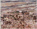 Aerial view of campus, 1990